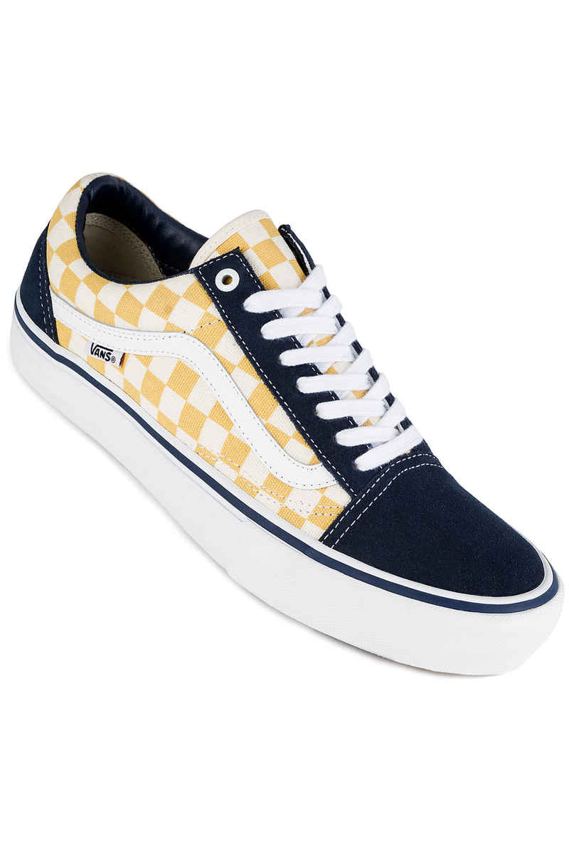 Vans Old Skool Pro Chaussure (checkerboard dress blues orche)