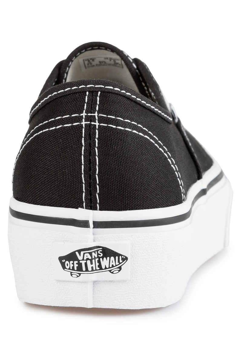Vans Authentic Plateau 2.0 Schuh women (black white)