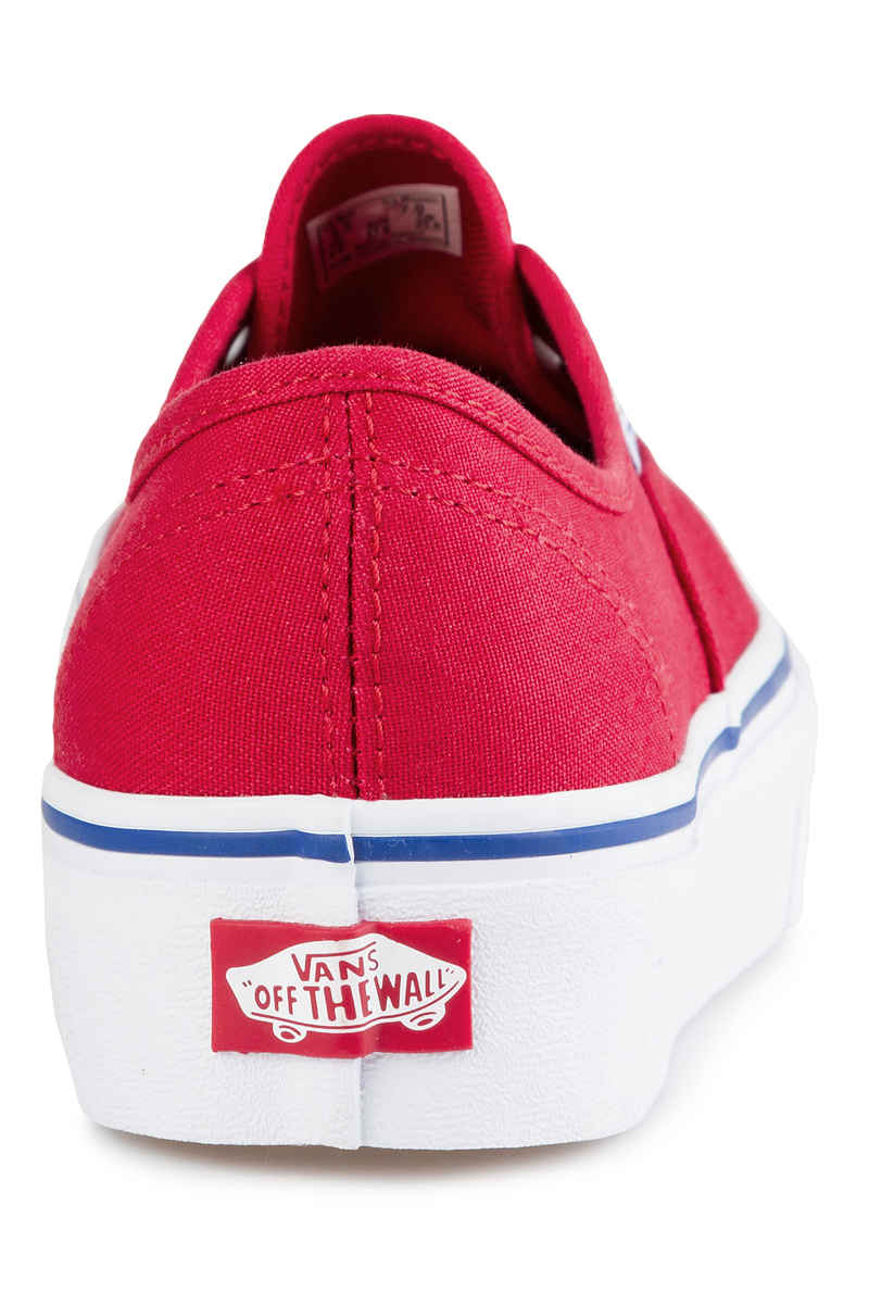Vans Authentic Plateau 2.0 Schuh women (racing red)
