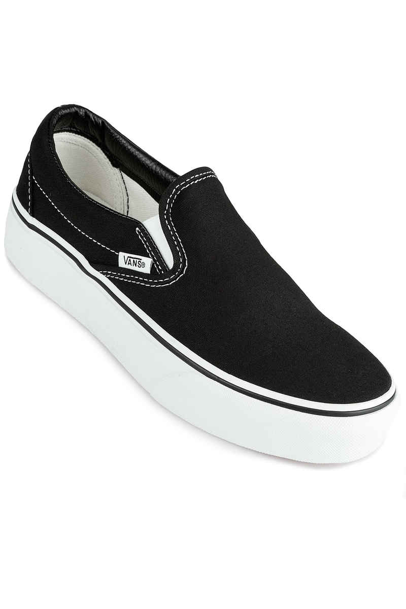 Vans Classic Slip-On Plateau Zapatilla women (black)