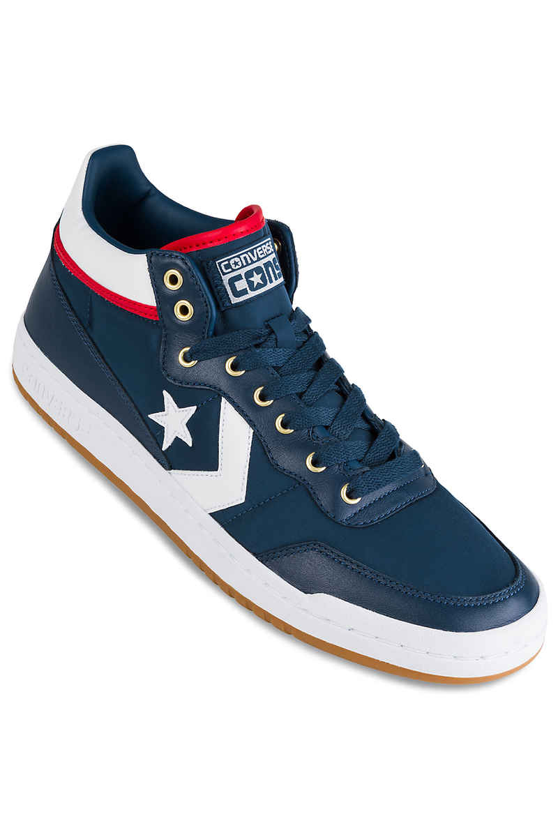 01d88392873218 Converse CONS Fastbreak Pro Mid Shoes (navy red enamel red) buy at ...