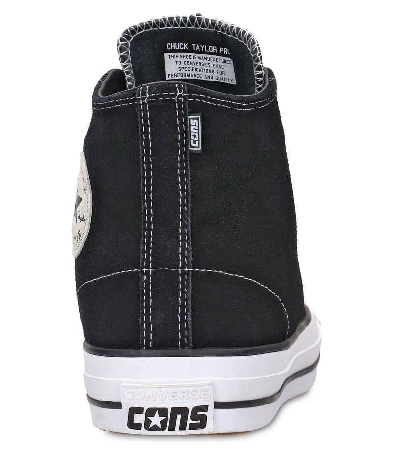 Converse CONS Chuck Taylor High All Star Pro Schuh (black black white)
