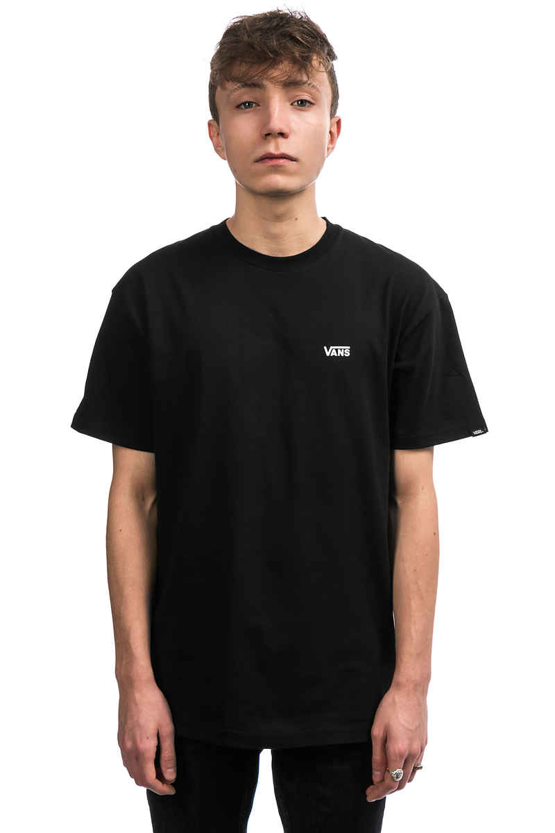Vans Left Chest Logo T-Shirt (black)