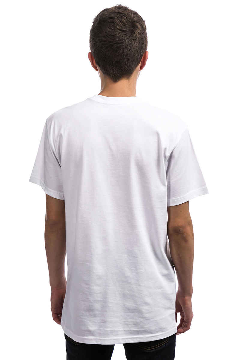 Vans Left Chest Logo Camiseta (white)