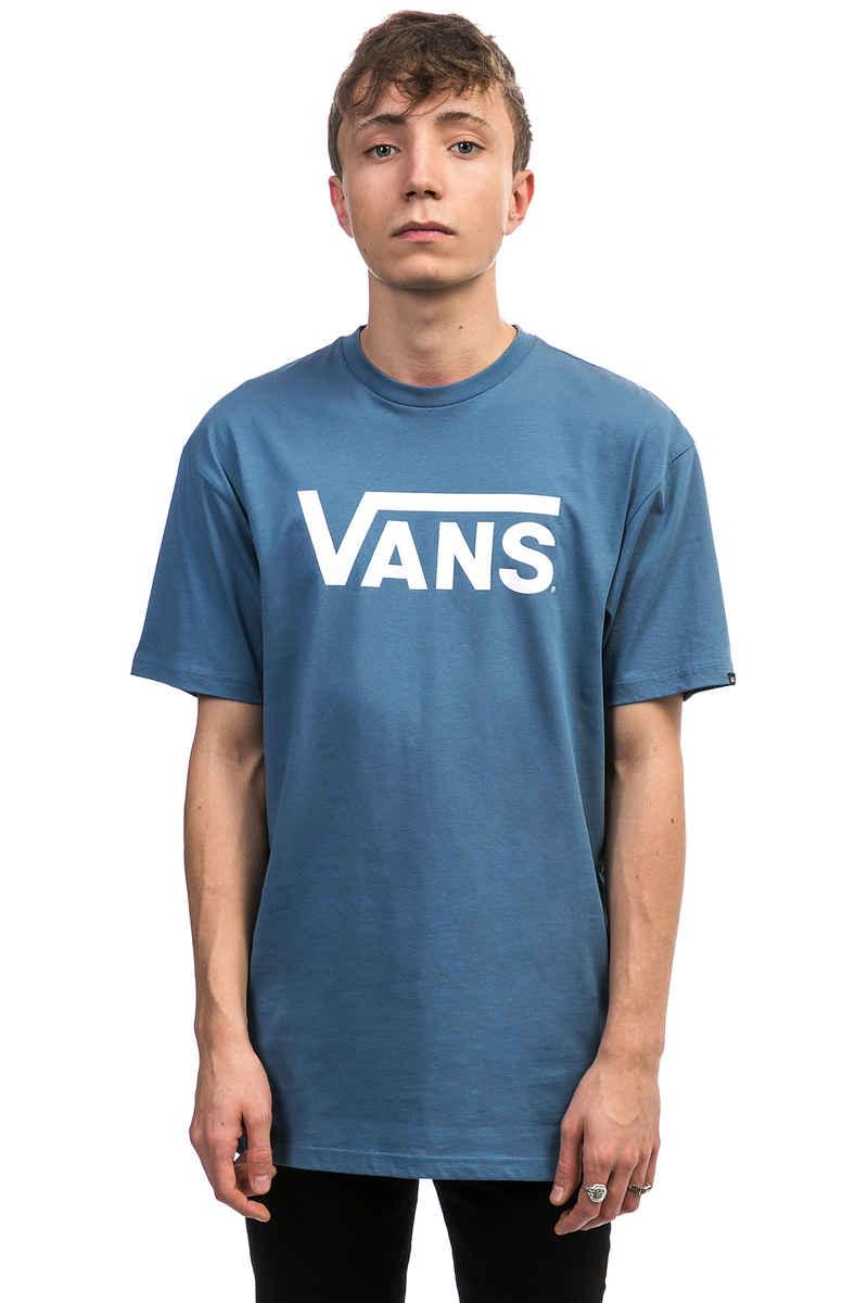 5ba4656597904d Vans Classic T-Shirt (copen blue white) buy at skatedeluxe