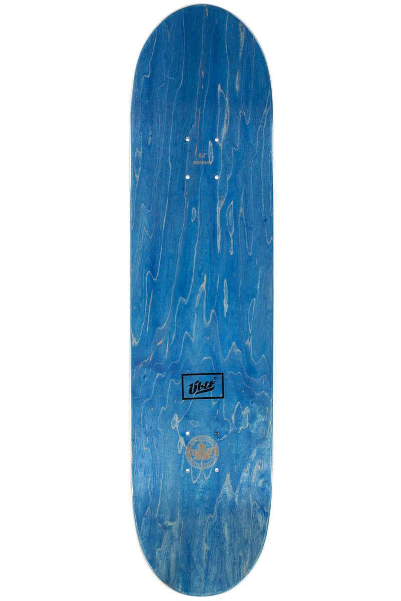 "Über Skateboards Stoned U 8"" Deck (white)"