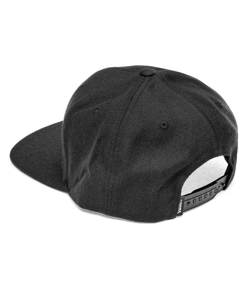 Vans Drop V II Snapback Cap (black white)