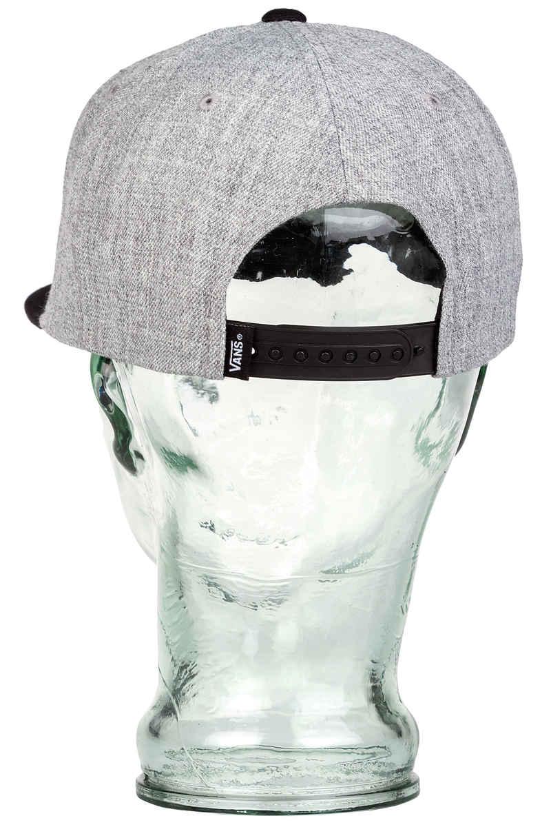 df9e98ce984 Vans Drop V II Snapback Cap (heather grey black) buy at skatedeluxe
