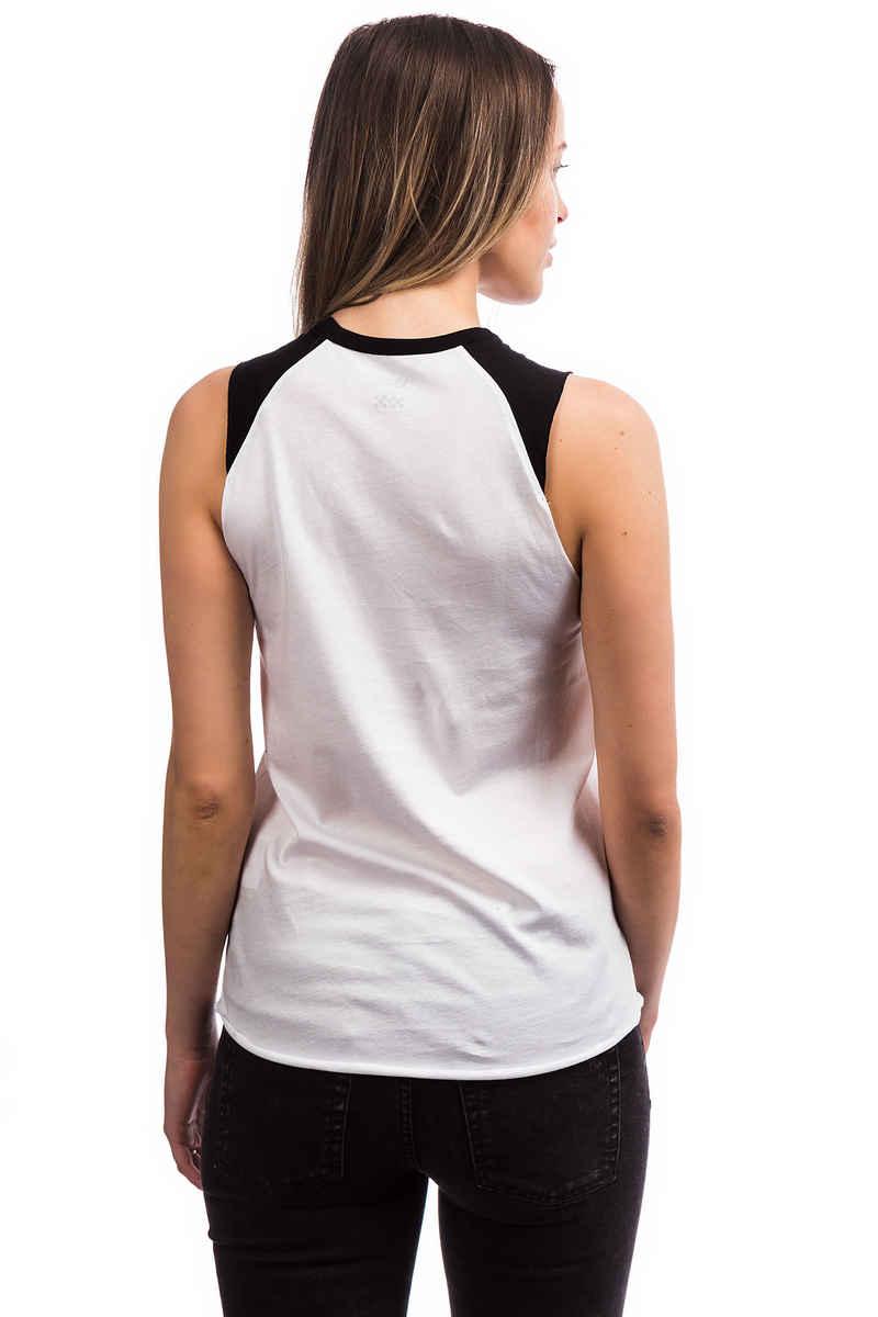 Vans Surrendered Camiseta de tirantes women (white black)