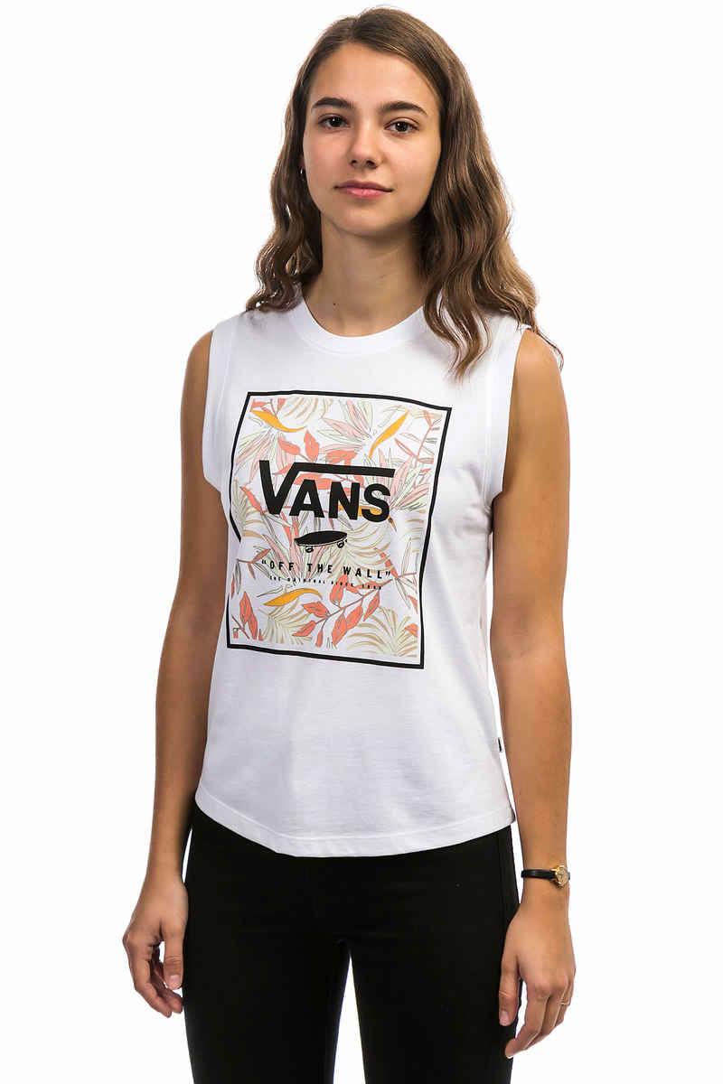 Vans Cali Floral Tank-Top women (white)