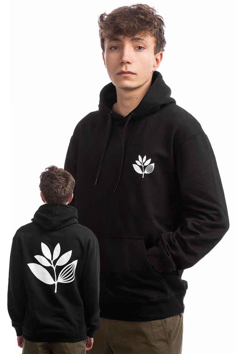 Magenta Plant Sudadera (black)