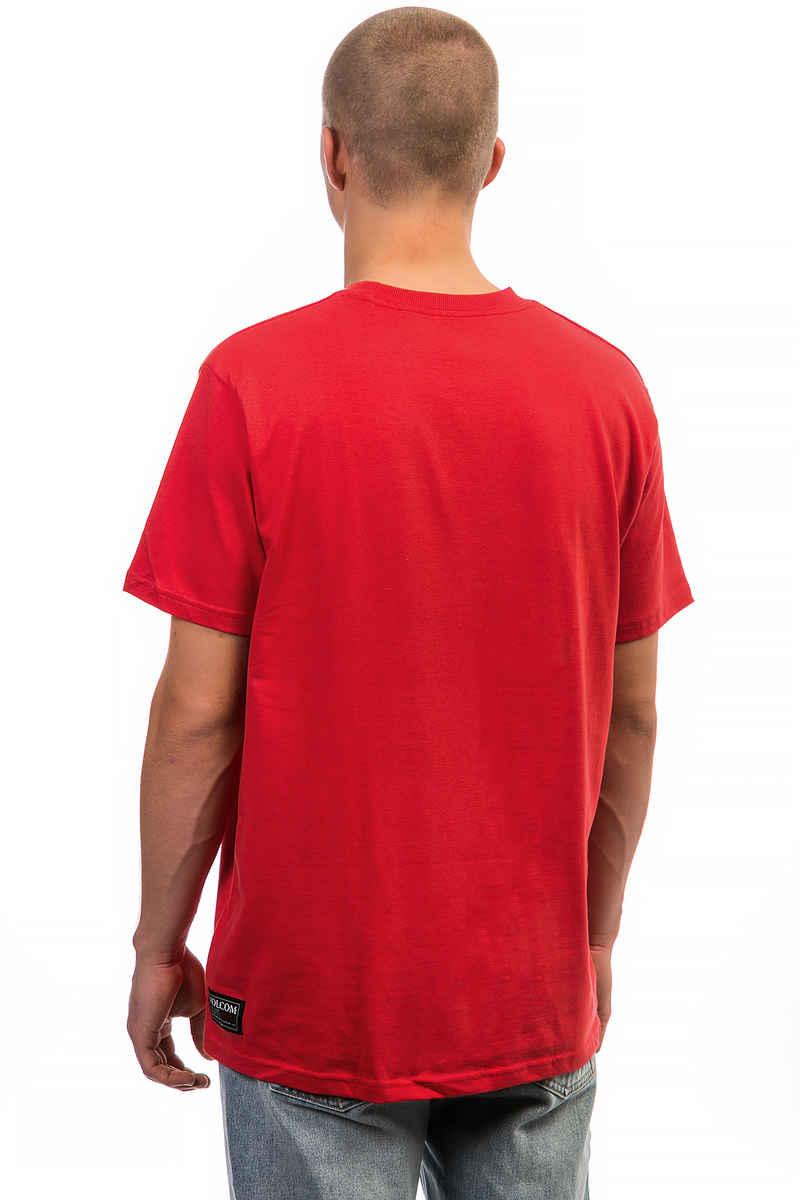 SK8DLX x Volcom Collab T-Shirt (true red)