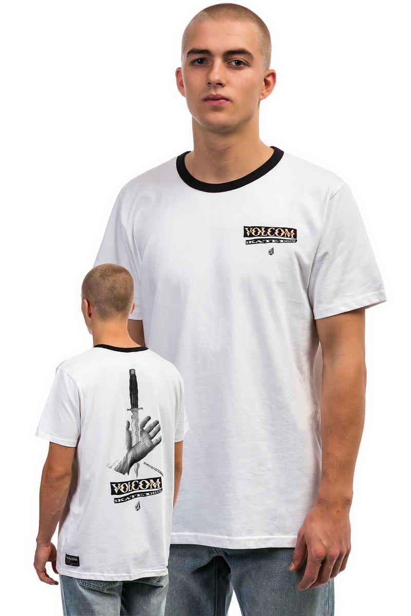 SK8DLX x Volcom Ringer T-Shirt (white)
