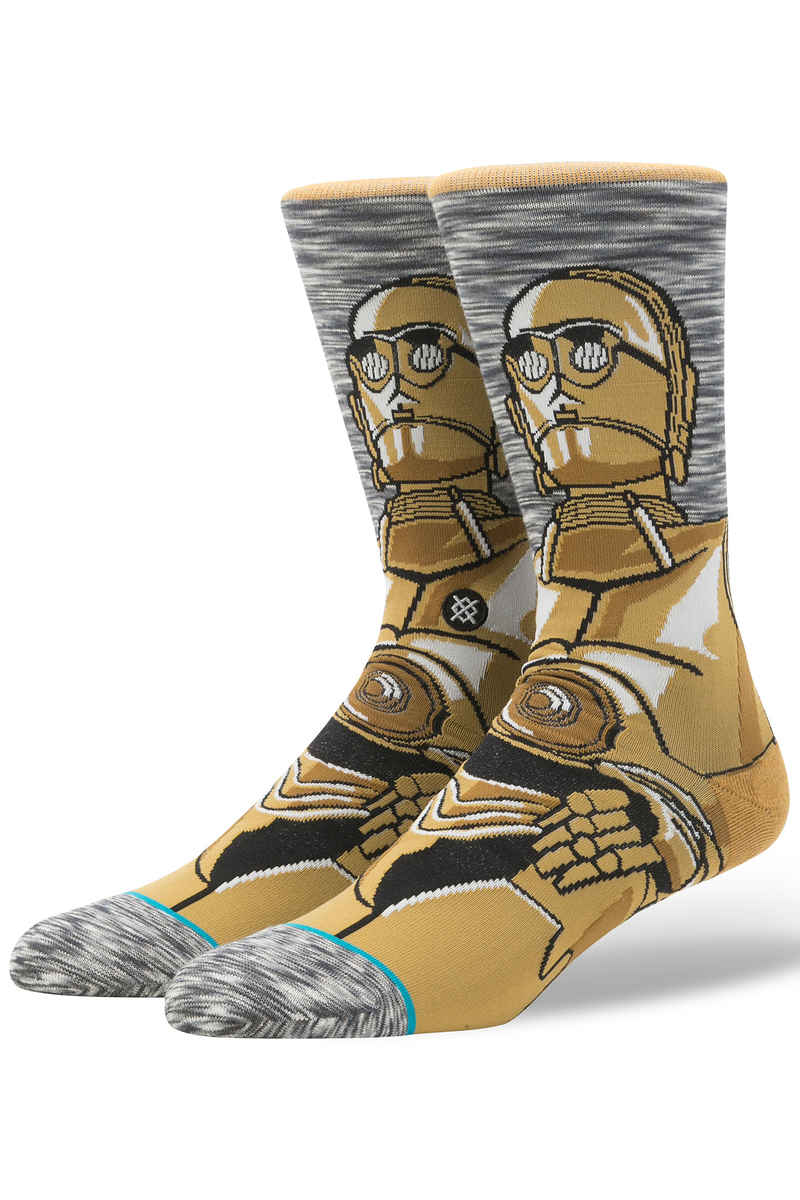 Stance x Star Wars Android C3PO Chaussettes US 6-12 (grey)