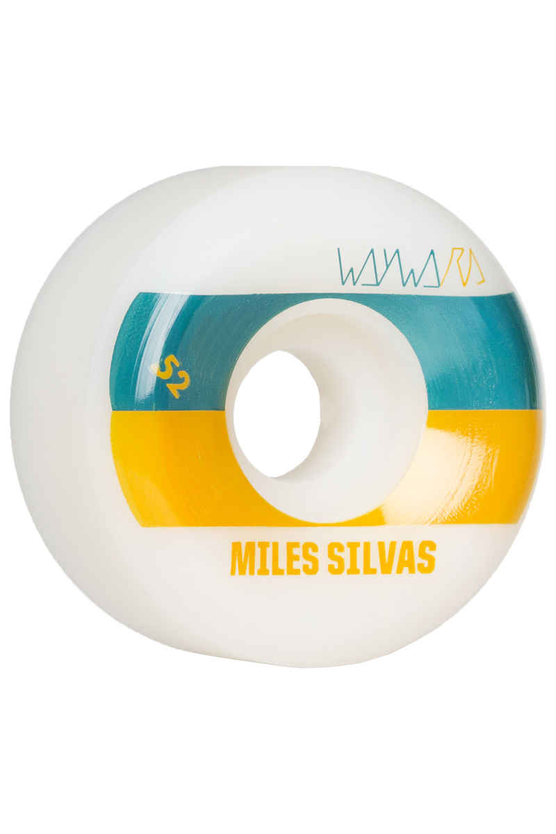 Wayward Silvas Tone2 Rueda (white rust) 52mm 99A Pack de 4