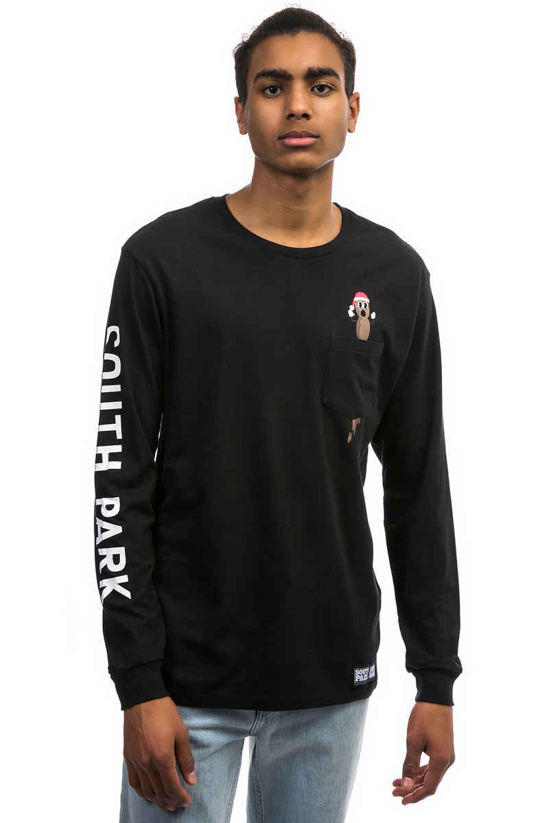 HUF x South Park Mr. Hankey Longsleeve (black)