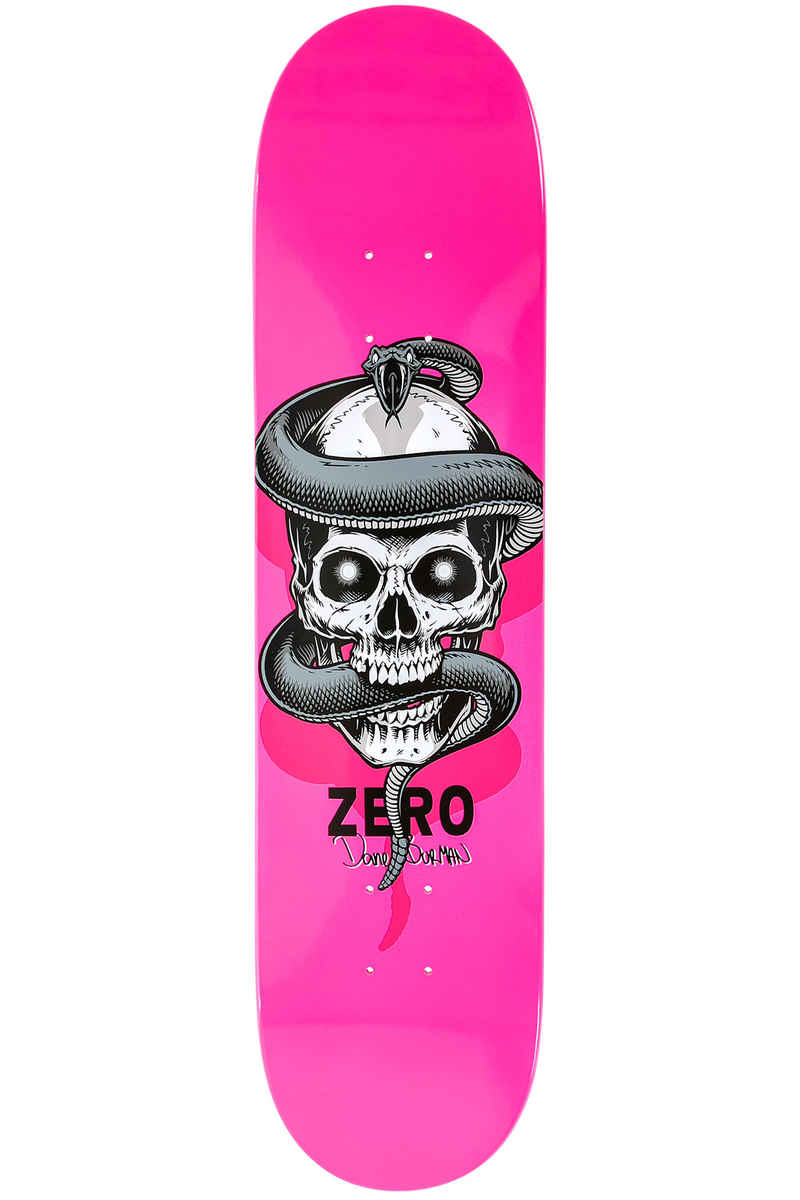 "Zero Burman V'nom 8.125"" Deck (fluorescent pink)"