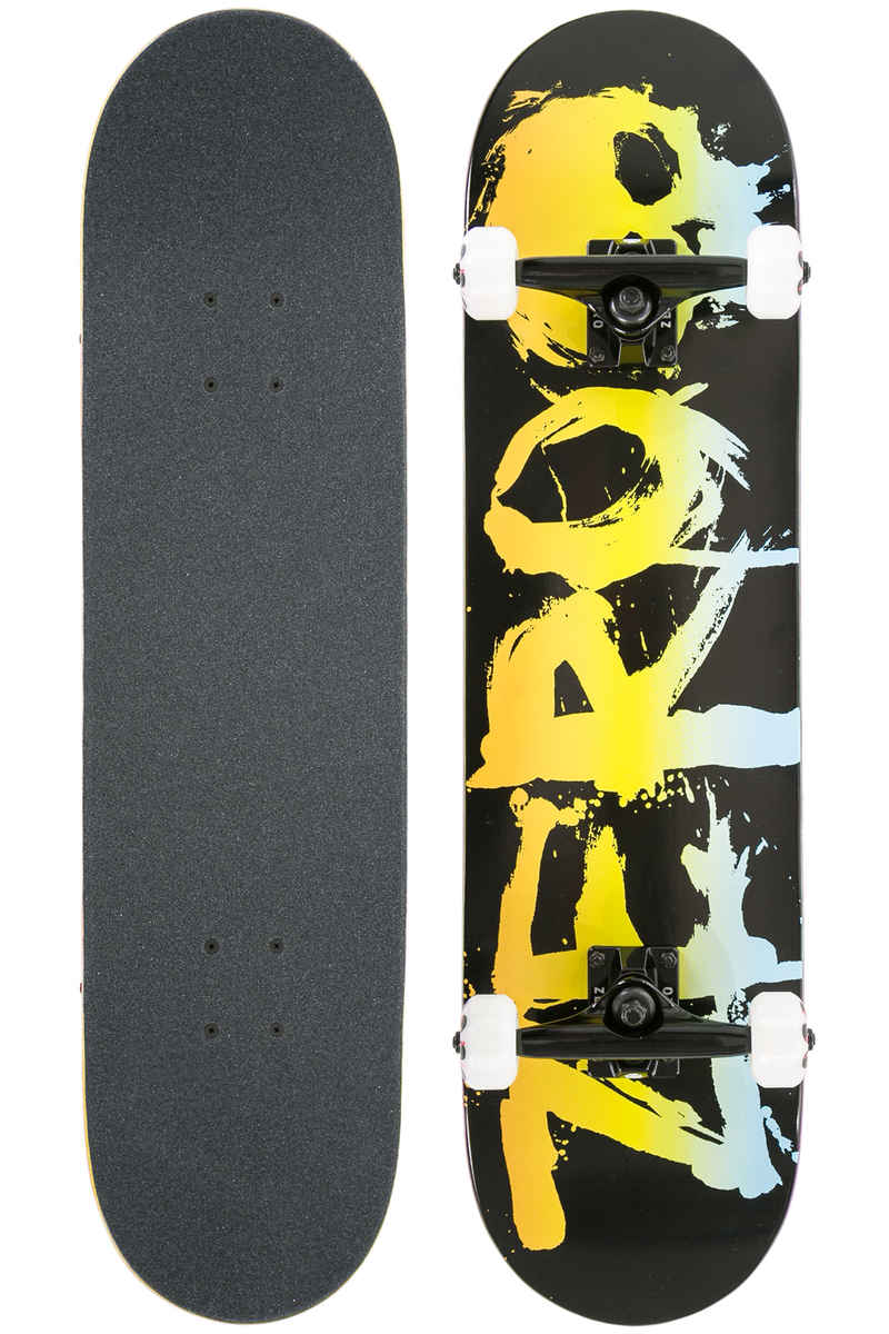 "Zero Blood 8"" Complete-Skateboard (black rainbow)"