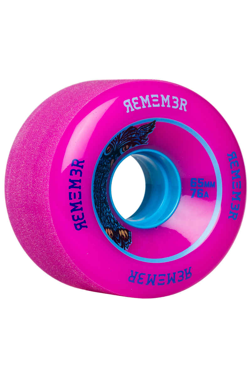 Remember Lil Hoot Wheels (pink) 4 Pack 65mm 76A
