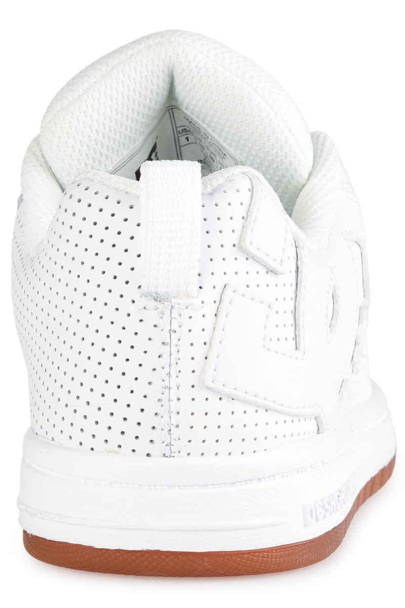 DC Court Graffik Shoes kids (white white gum)