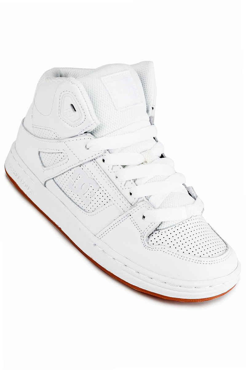 DC Pure High Top Schoen kids (white white gum)