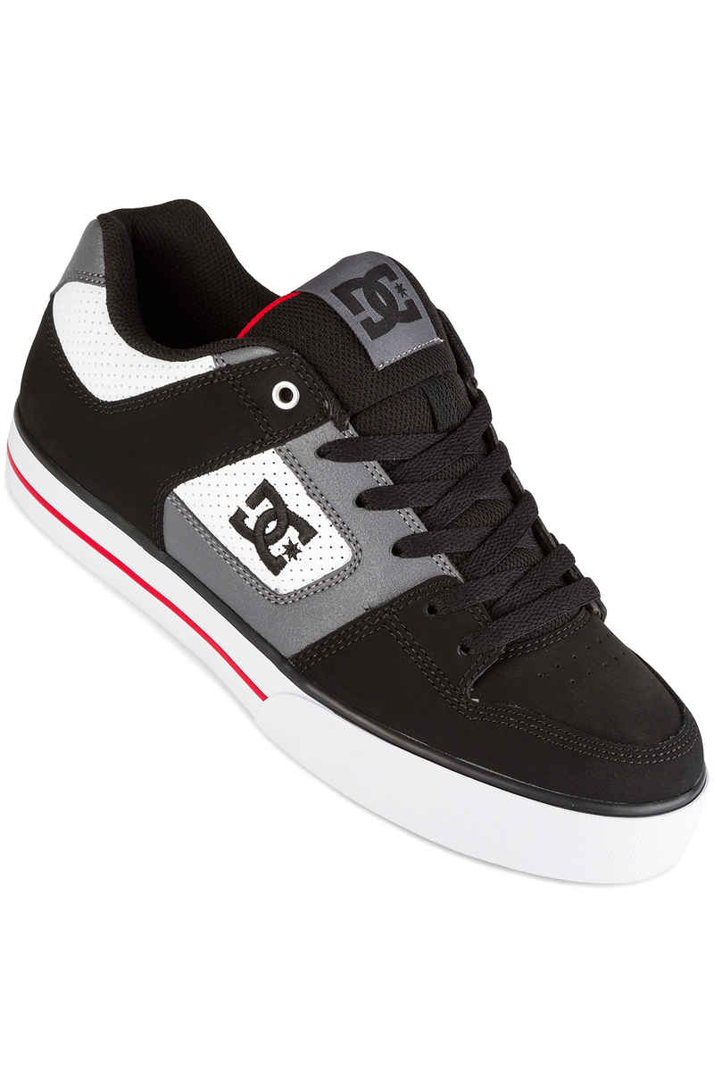 DC Pure Shoes (white black red)