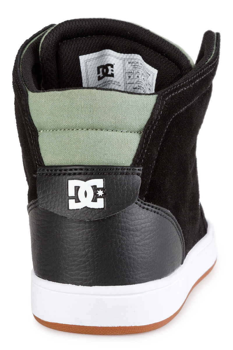 DC Crisis High Shoes (black olive)