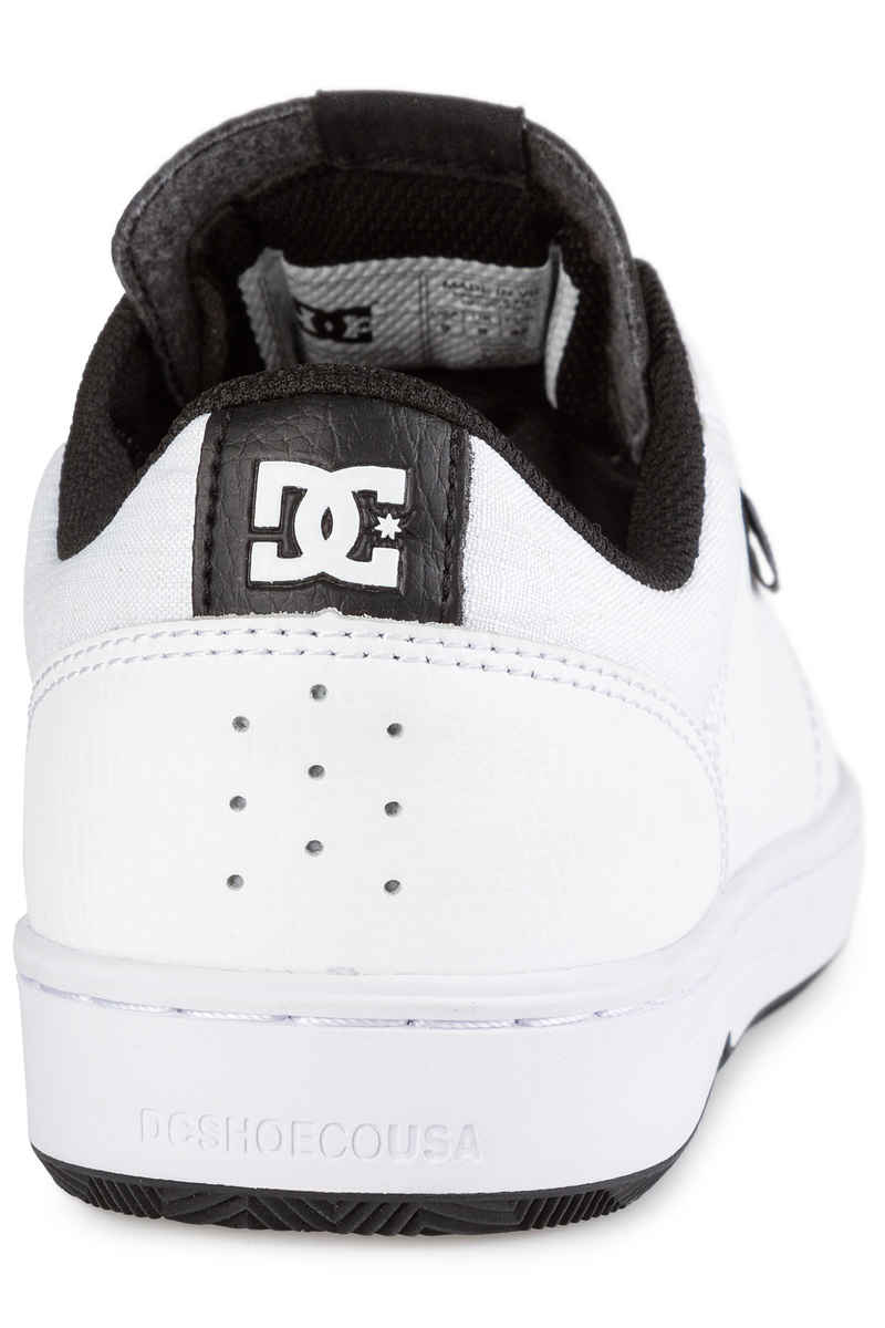 DC Astor Schoen (white white black)