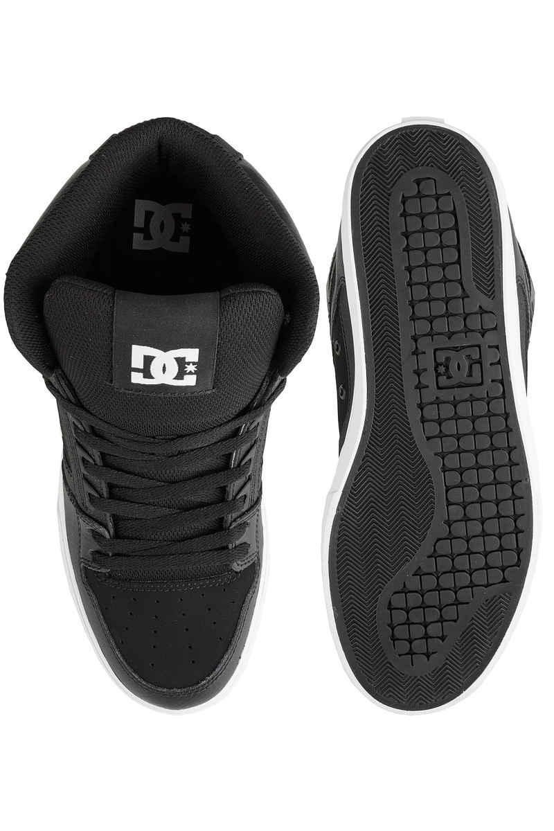 DC Pure High Top WC Schoen (black white)