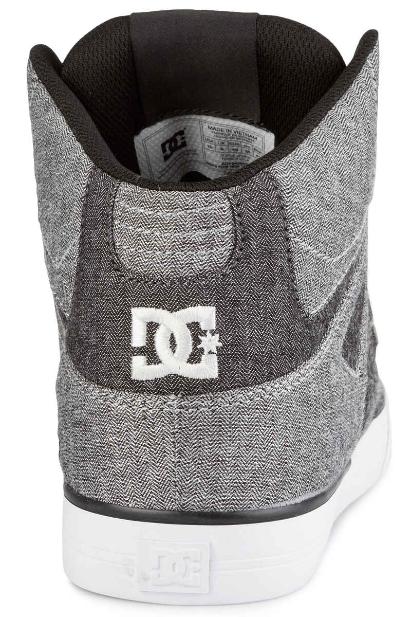 DC Pure High Top WC TX SE Schoen (grey white grey)