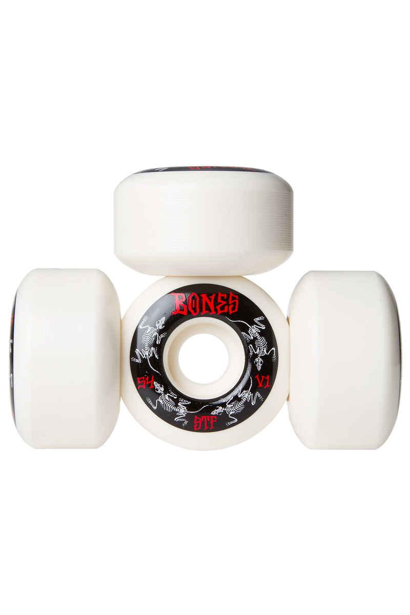 Bones STF-V1 Series III Wheels (white) 54mm 103A 4 Pack