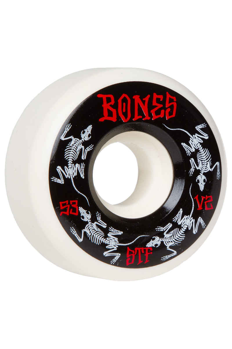Bones STF-V2 Series III Roue (white) 53mm 103A 4 Pack
