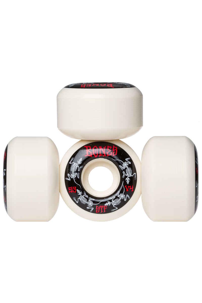 Bones STF-V4 Series III Wheels (white) 53mm 103A 4 Pack