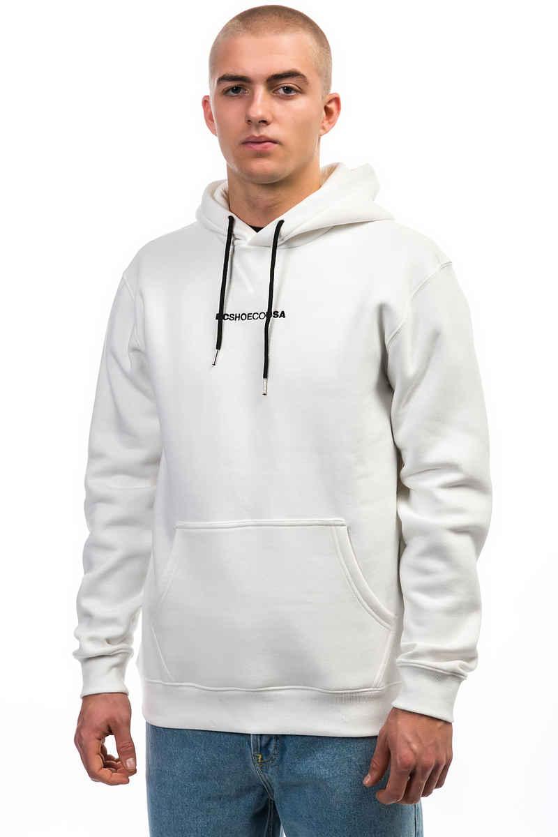 White dc hoodie