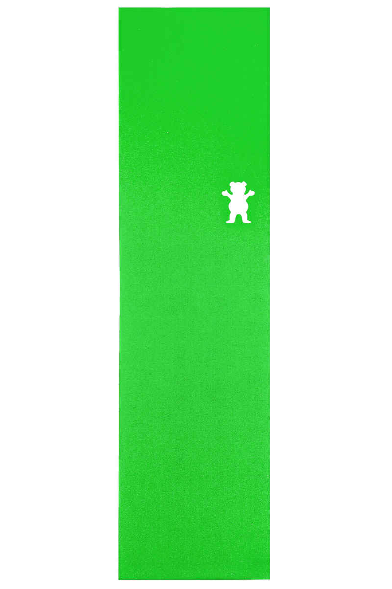 Grizzly Clear Cut Out Grip Skate (green)