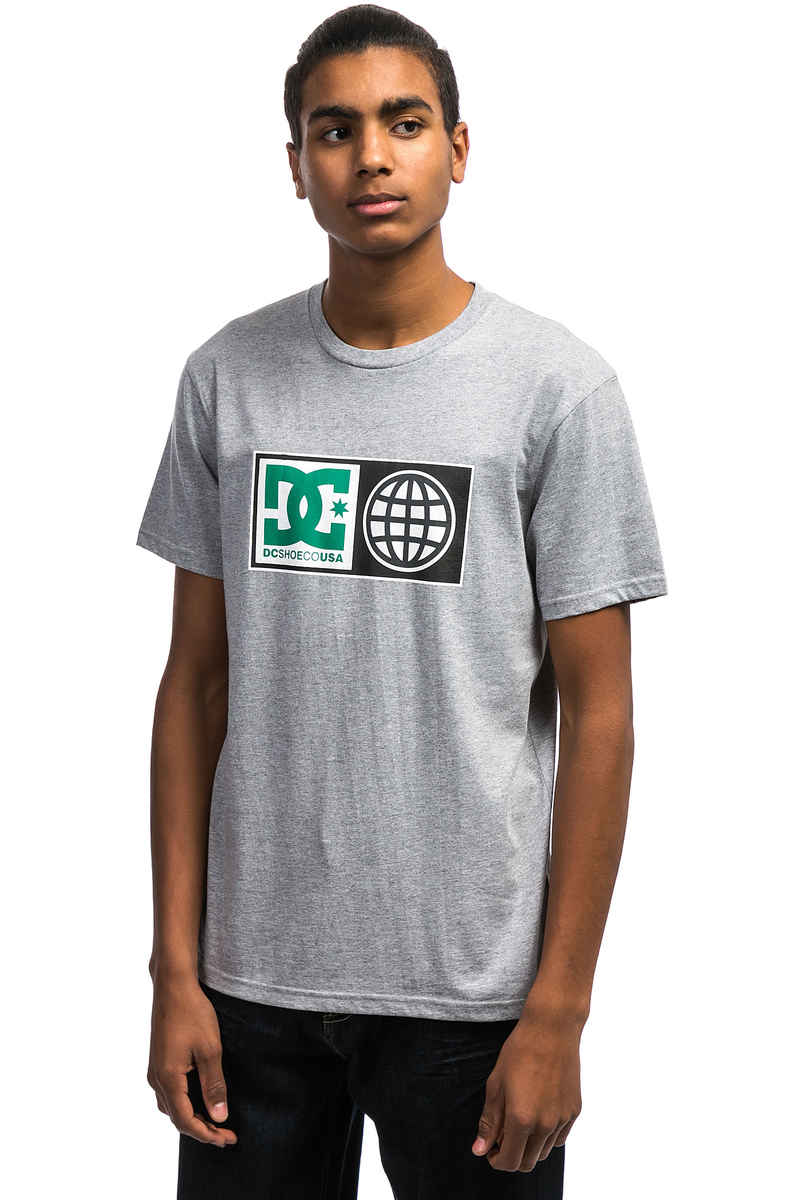 DC Global Salute T-Shirt (grey heather)
