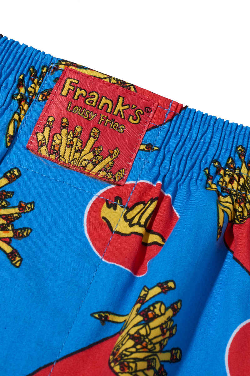 Lousy Livin Underwear x Frank Fries Boxershorts (directoire blue)