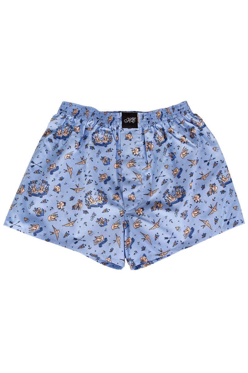 Lousy Livin Underwear x HVE Boxershorts (eden blue)