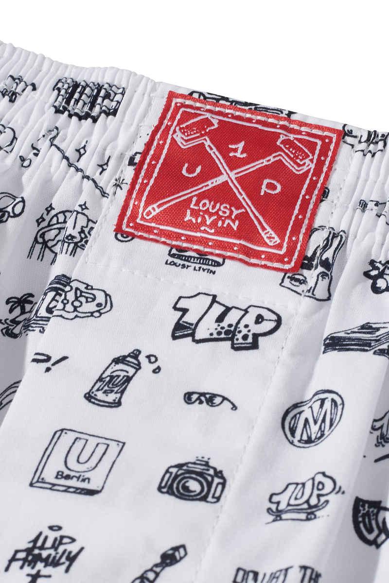 Lousy Livin Underwear x 1Up Livin 2.0 Boxershorts (white)
