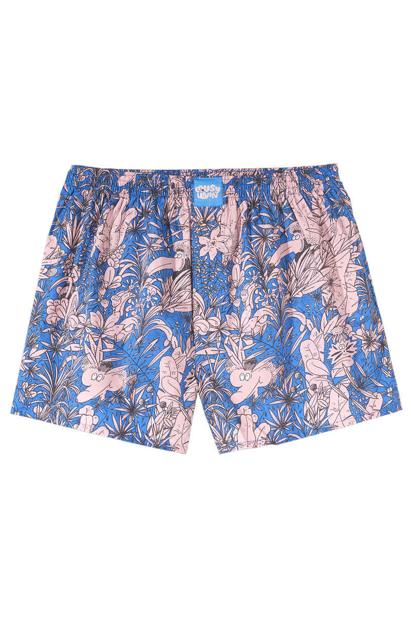 Lousy Livin Underwear Tropical Boxershorts (parisian blue)