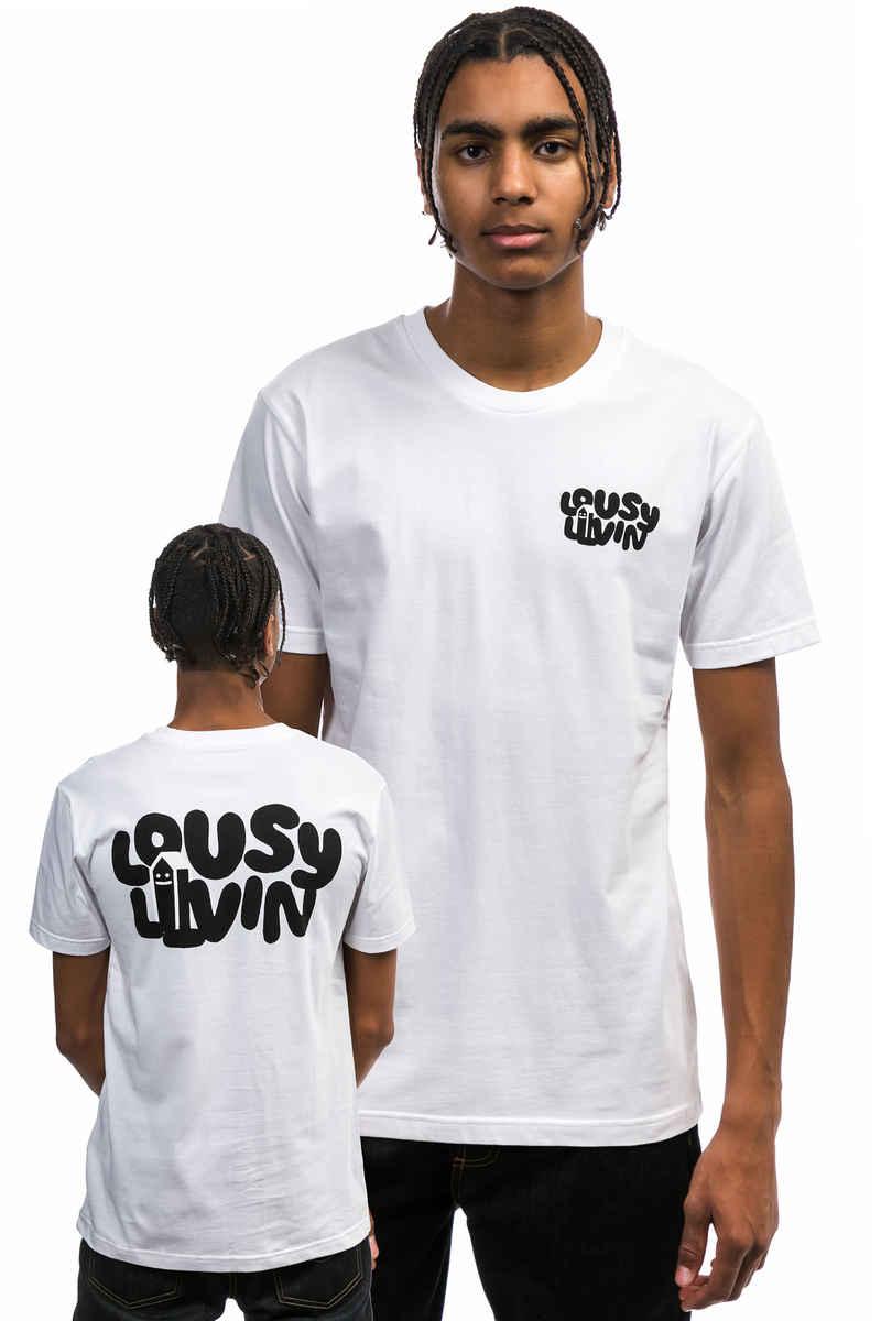 Lousy Livin Underwear Big Logo T-Shirt (white)