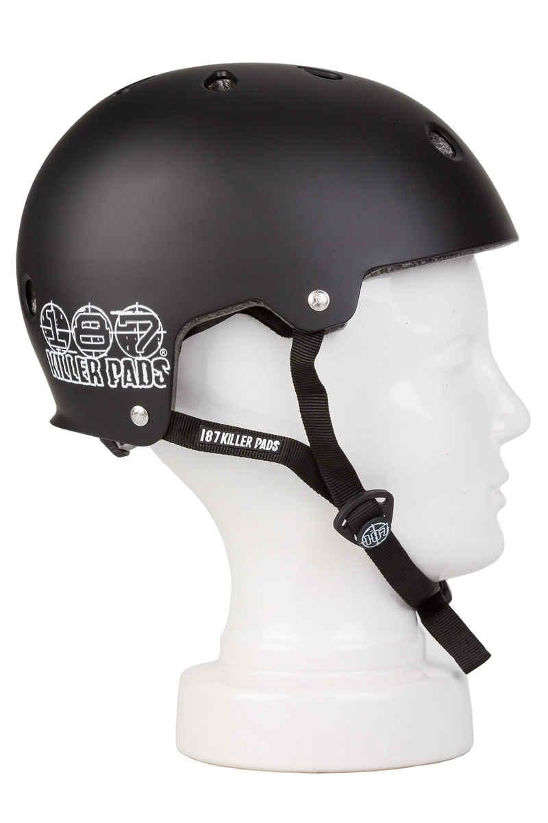 187 Killer Pads Skate Helm (black)