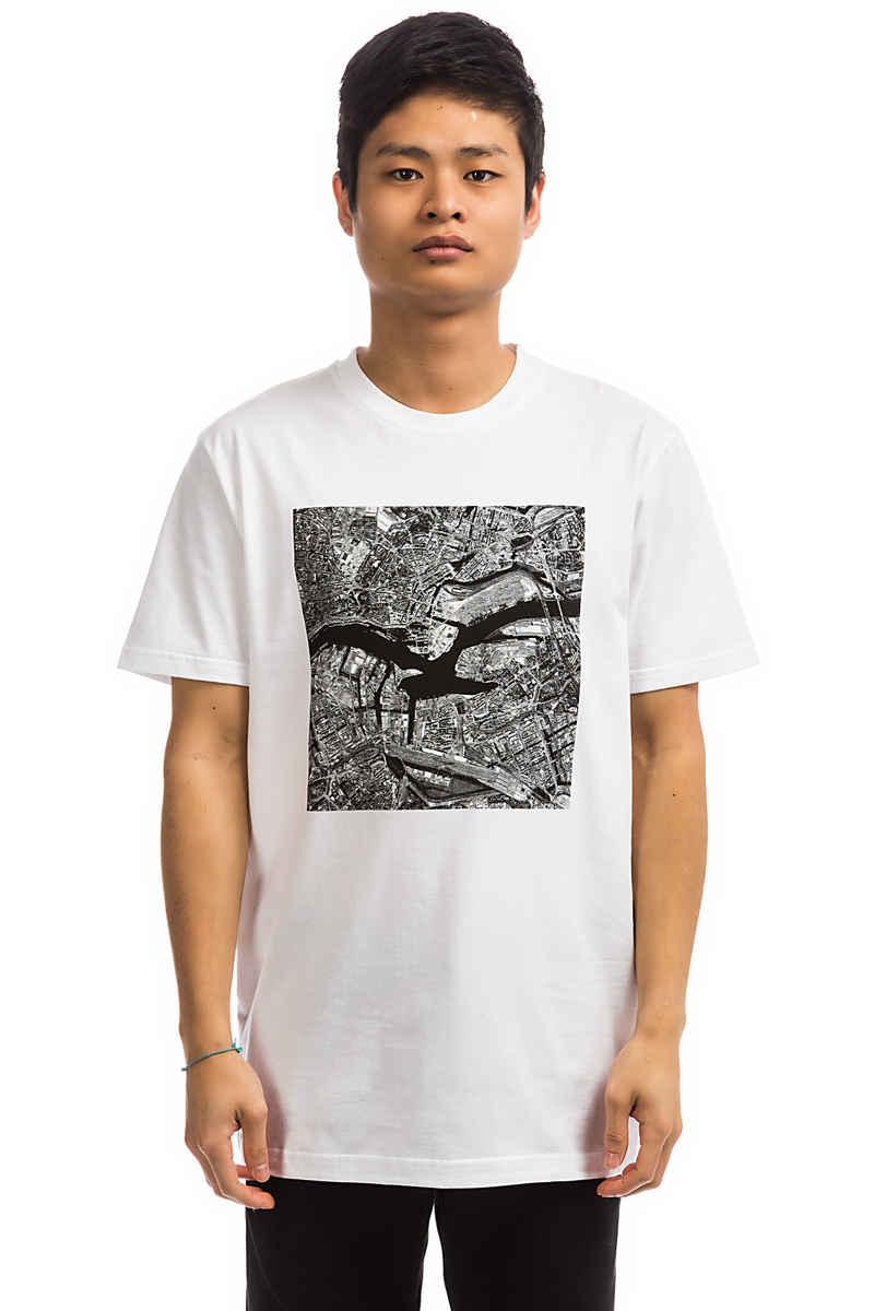 Cleptomanicx Elbmöwe T-Shirt (white)