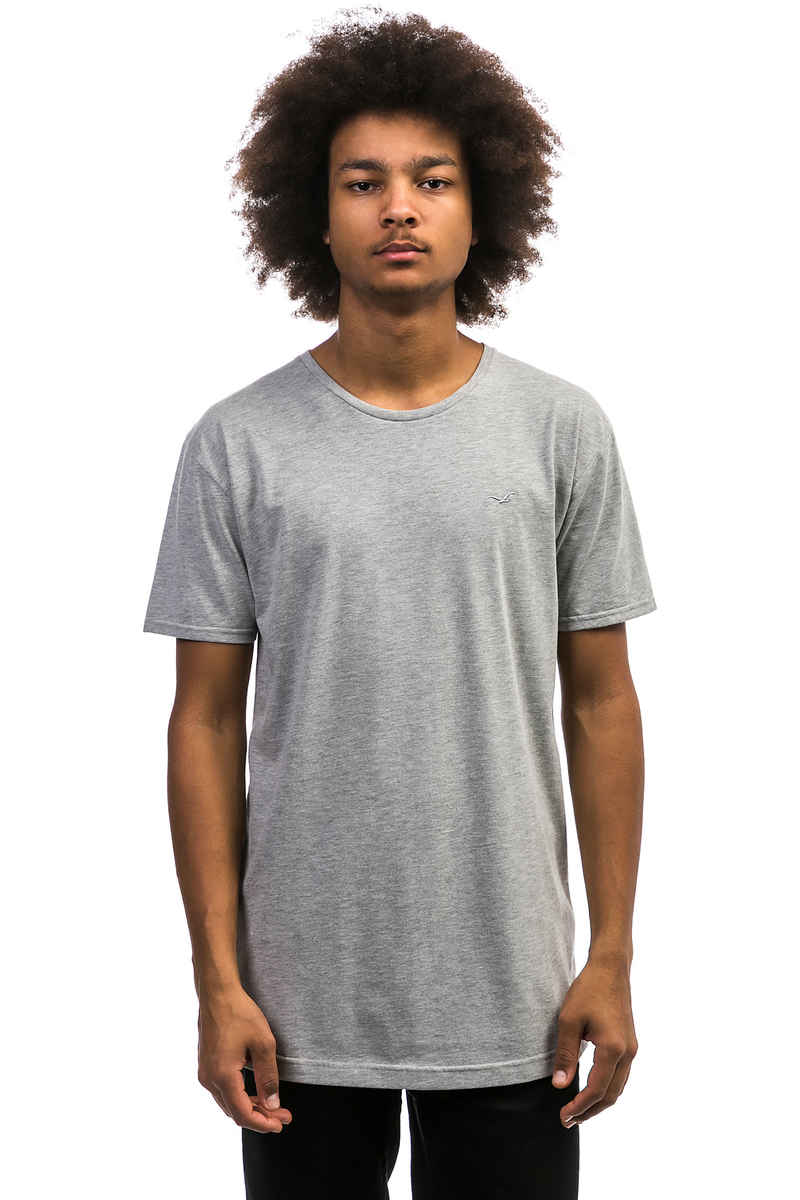 Cleptomanicx Ligull Long 2 Camiseta (heather grey)