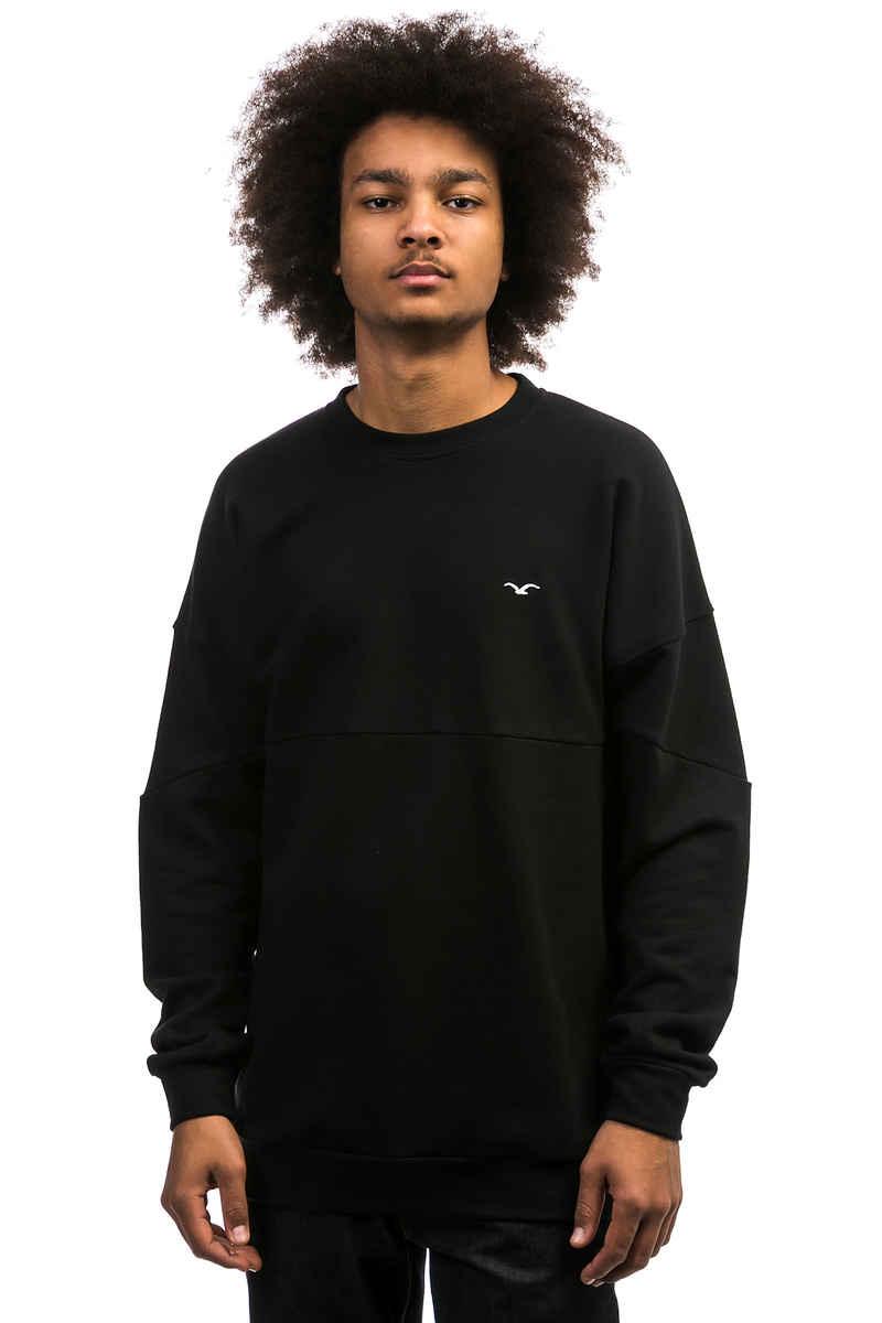 Cleptomanicx Dropshoulder Sweatshirt (black)