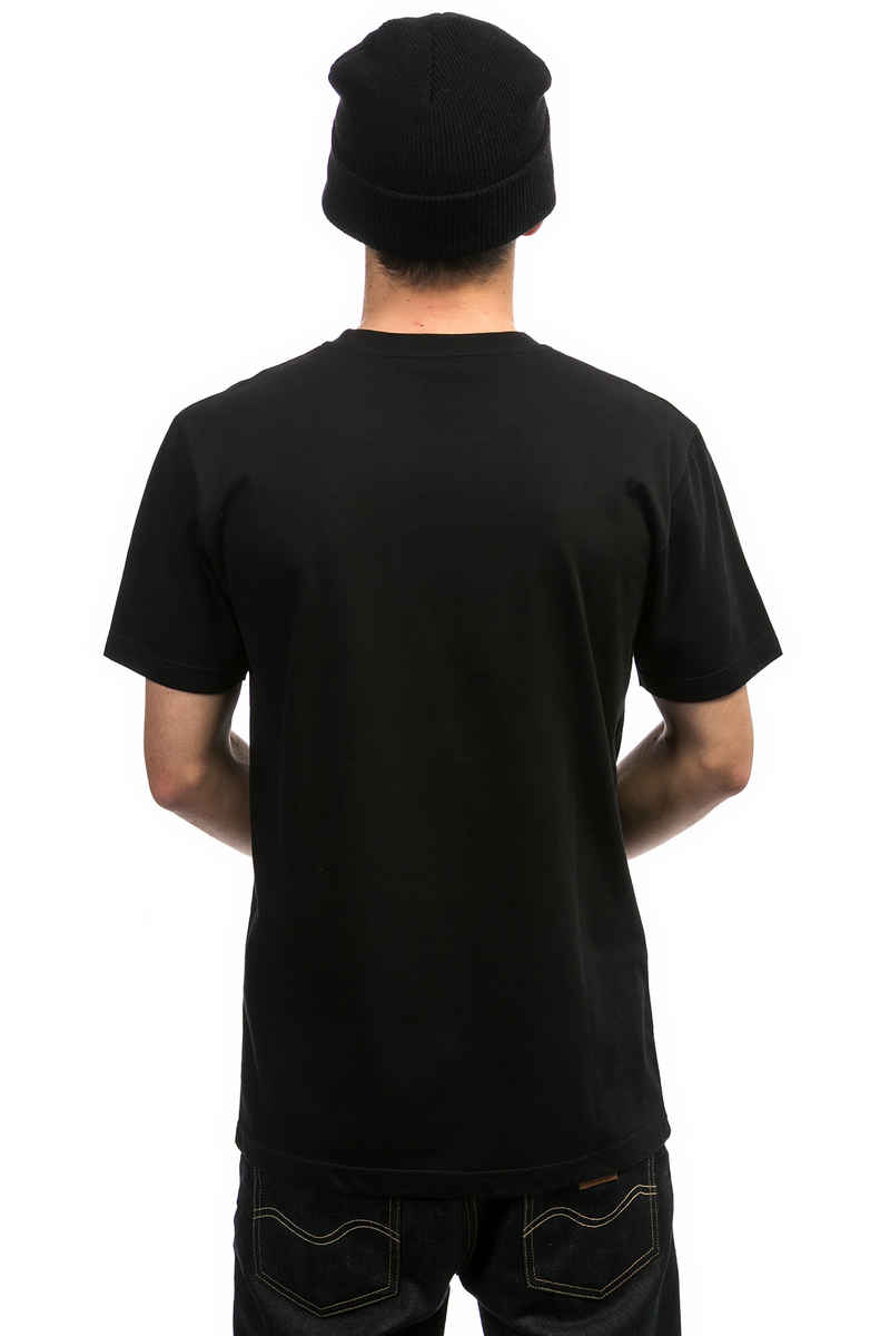 Cleptomanicx Global T-Shirt (black)