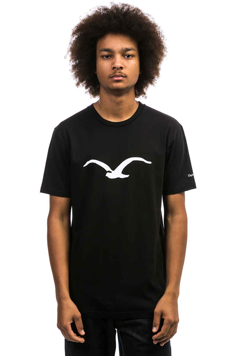 Cleptomanicx Möwe T-Shirt (black)