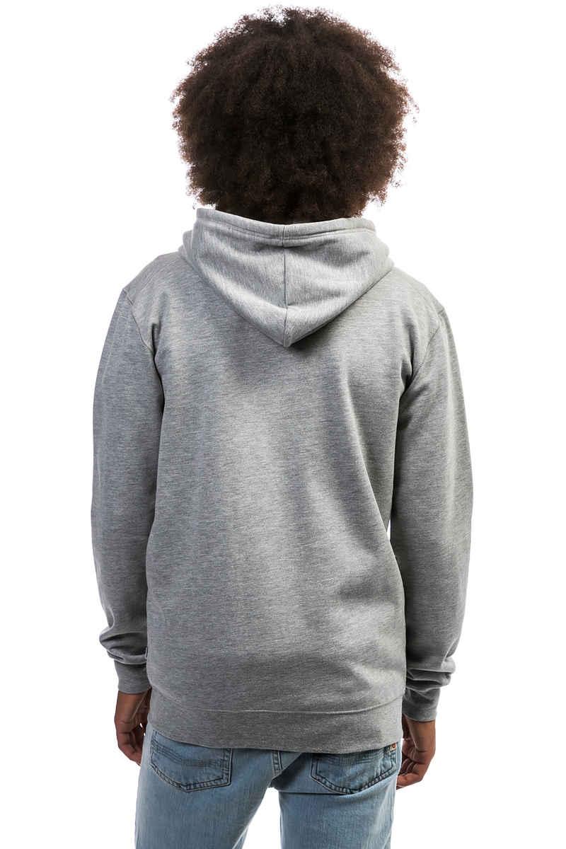 Cleptomanicx Ligull 2 Zip-Sweatshirt avec capuchon (heather grey)