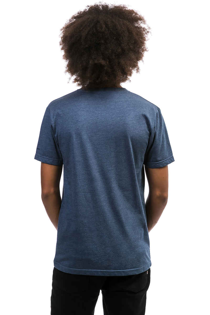 Cleptomanicx Möwe Tonal T-Shirt (heather blue)