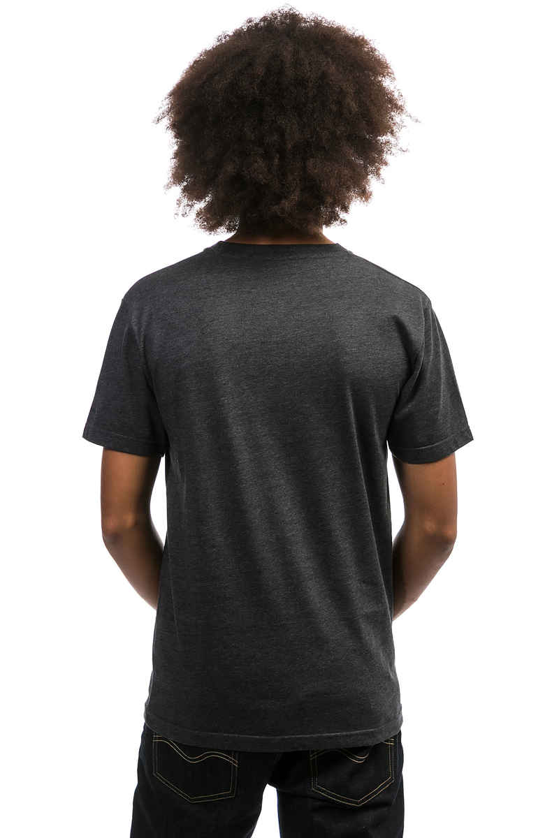 Cleptomanicx Möwe Tonal T-Shirt (heather black)